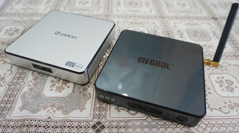 Đánh giá so sánh Android Box Mecool BB2 so với Zidoo X6 và Zidoo X9S